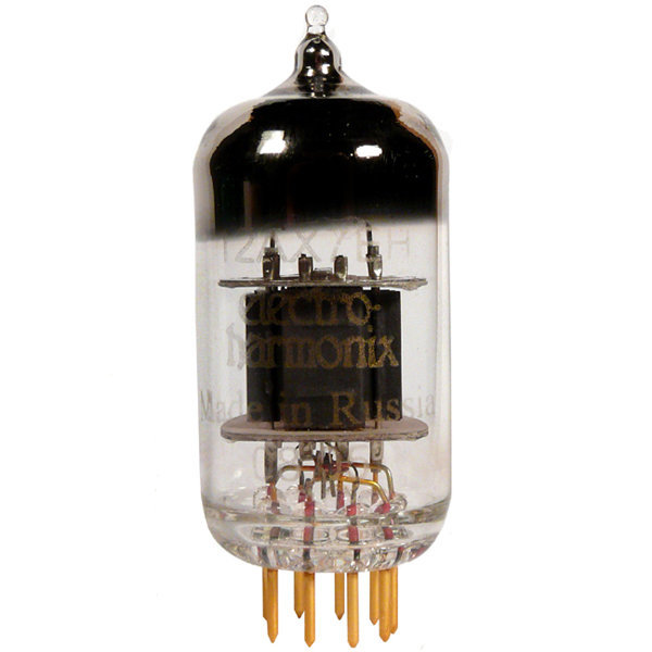 View larger image of Electro-Harmonix 12AX7 Preamp Tube - Gold Pins