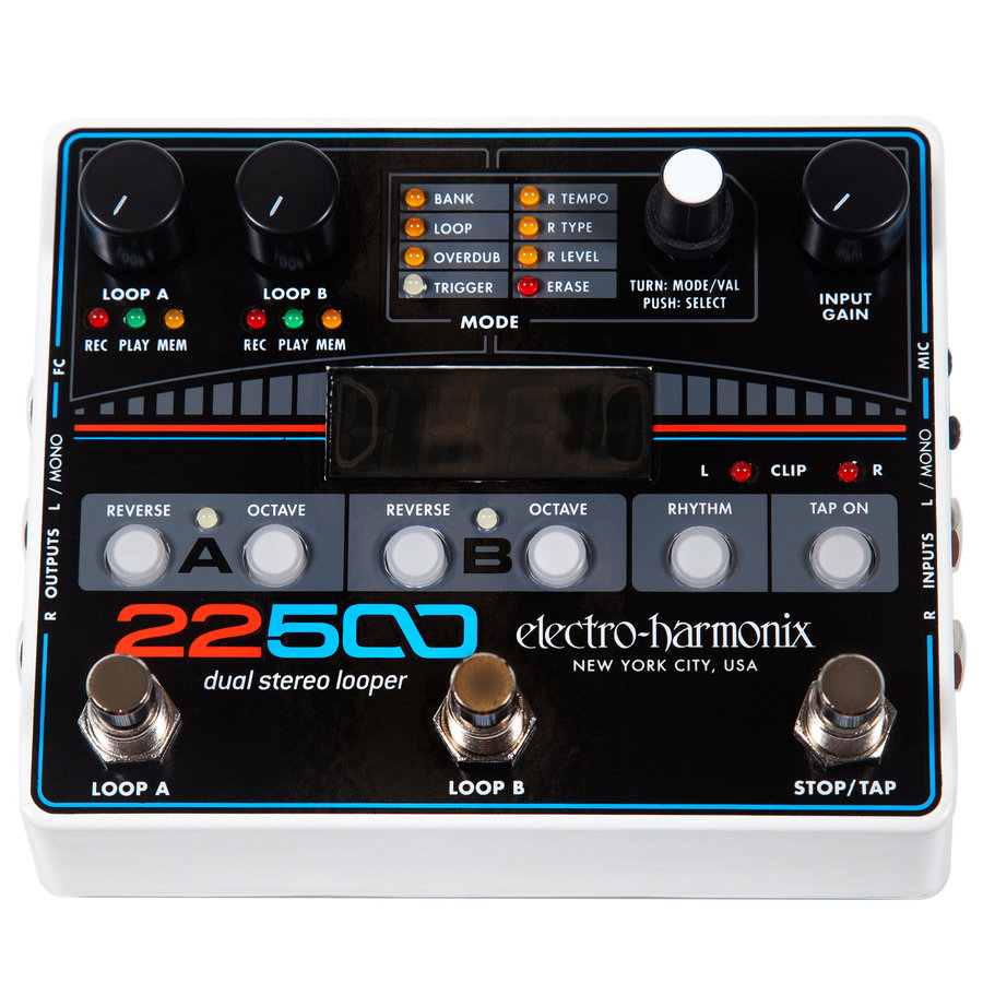 View larger image of Electro-Harmonix 22500 Dual Stereo Looper
