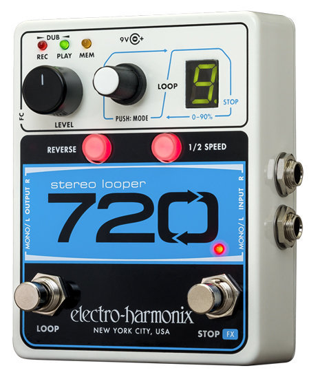 View larger image of Electro Harmonix 720 Stereo Looper Pedal