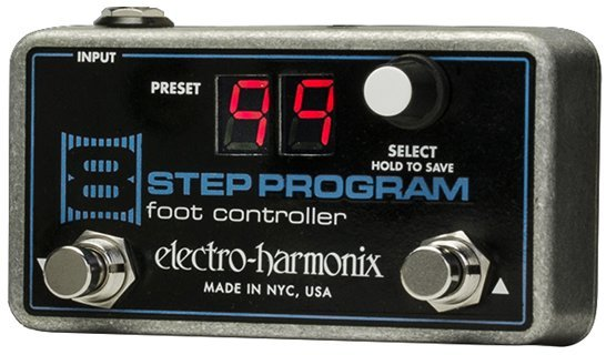 View larger image of Electro-Harmonix 8 Step Program Foot Controller Remote Preset Controller