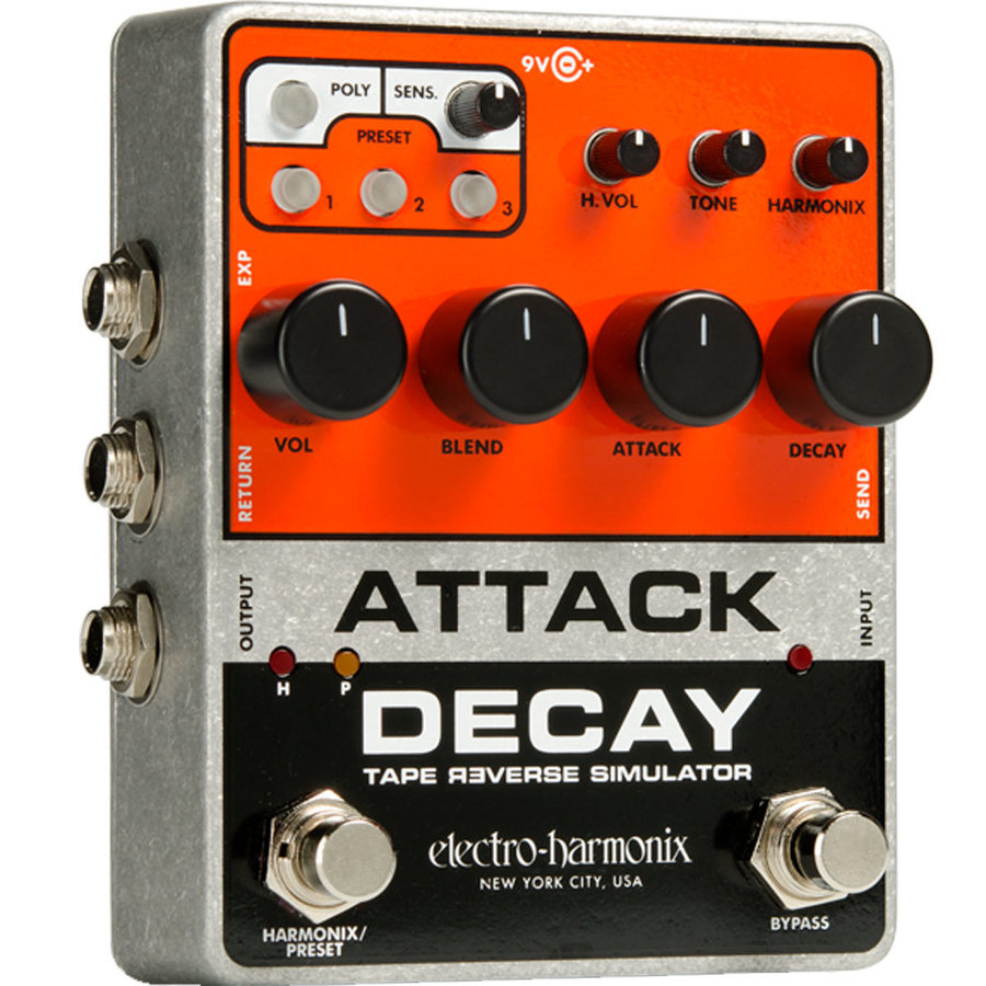 View larger image of Electro-Harmonix Attack Delay Pedal