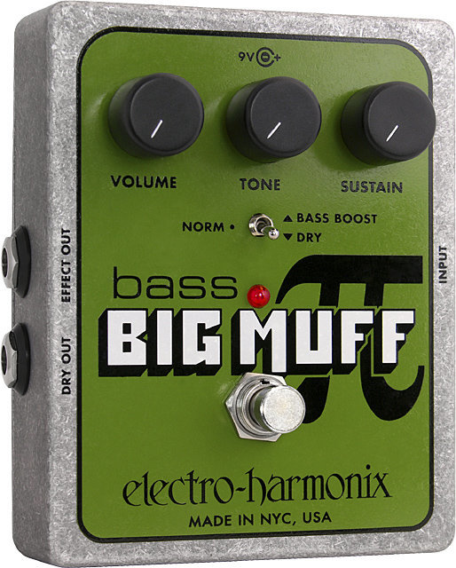 View larger image of Electro-Harmonix Bass Big Muff Pi Distortion/Sustainer Pedal