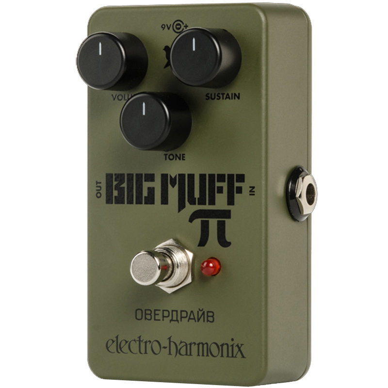 View larger image of Electro-Harmonix Green Russian Big Muff Distortion/Sustainer Pedal