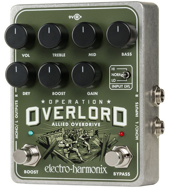 View larger image of Electro-Harmonix Operation Overlord Allied Overdrive Pedal