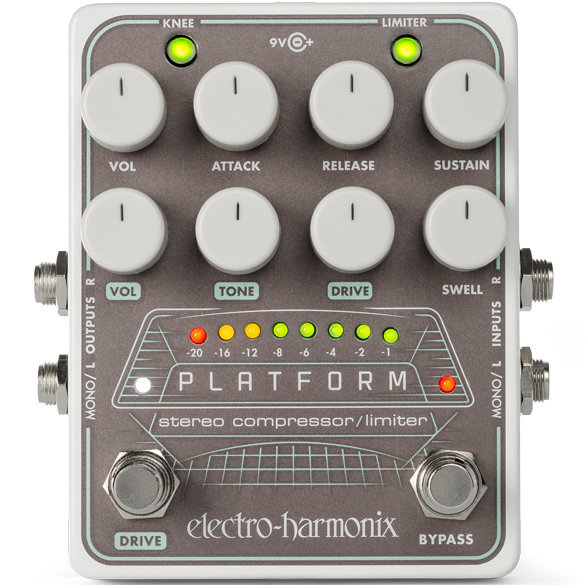 View larger image of Electro-Harmonix Platform Stereo Compressor Pedal