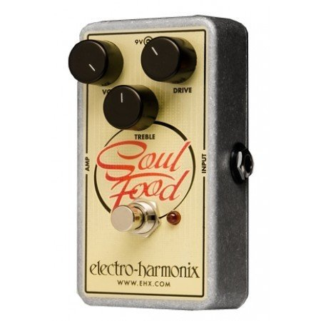 View larger image of Electro-Harmonix Soul Food Transparent Overdrive Pedal