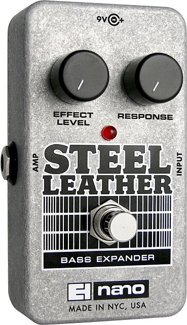 View larger image of Electro-Harmonix Steel Leather Attack Expander for Bass Guitar