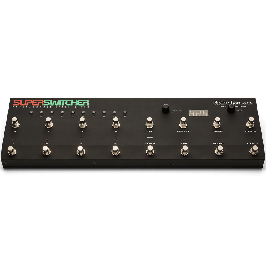 View larger image of Electro-Harmonix Super Switcher Programmable Effects Hub