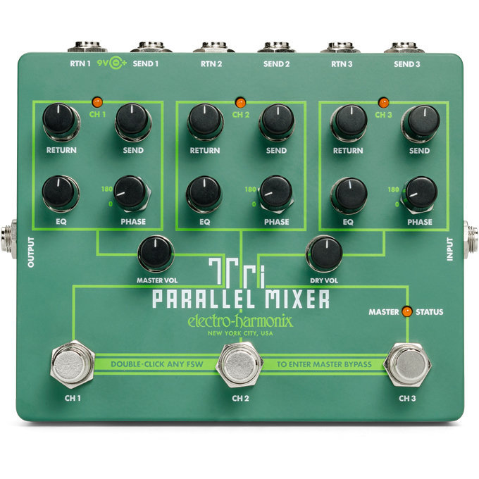 View larger image of Electro-Harmonix Tri Parallel Mixer Pedal