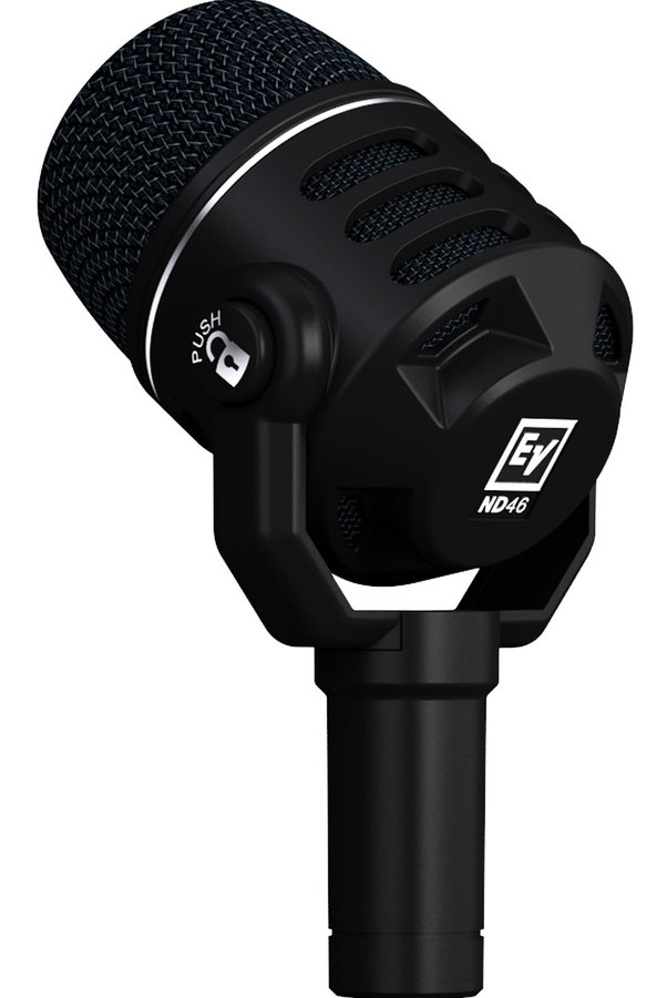 View larger image of Electro-Voice ND46 Dynamic Supercardioid Instrument Microphone