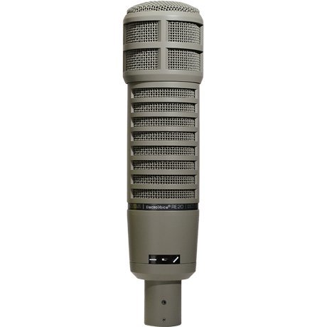 View larger image of Electro-Voice re20 Broadcast Announcer Microphone w/ Variable-D