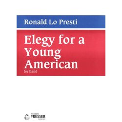 Elegy for a Young American - Score, Grade 4