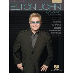 Elton John Anthology – 2nd Edition - Piano/Vocal/Guitar Songbook