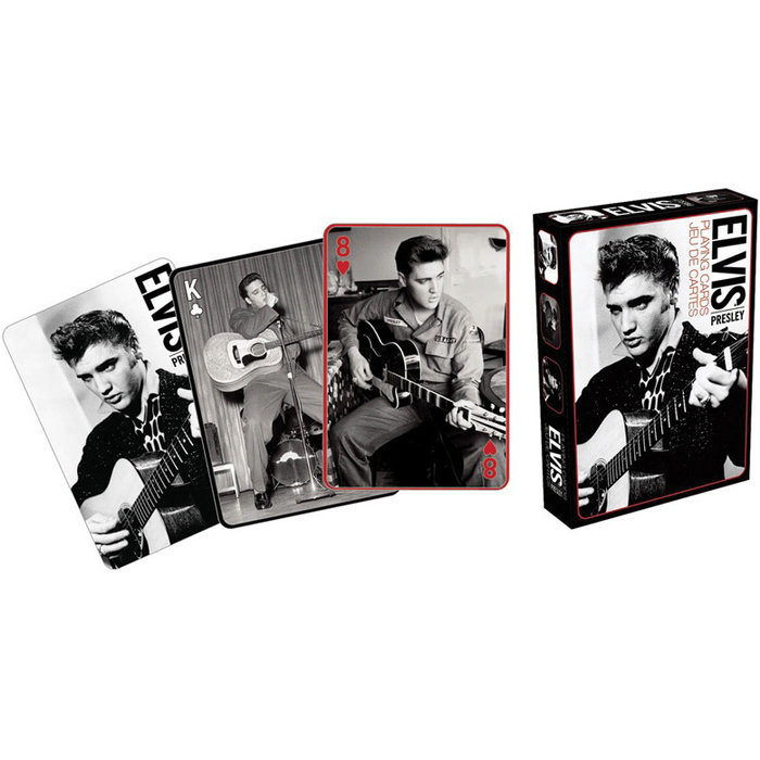 View larger image of Elvis Presley Music Playing Cards