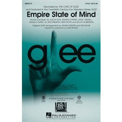 Empire State of Mind (featured in Glee), 2PT Parts