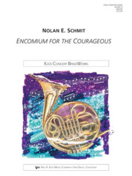 View larger image of Encomium for the Courageous - Score & Parts, Grade 4