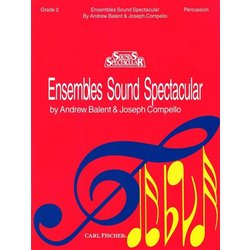 Ensembles Sound Spectacular Book 2 - Percussion
