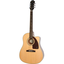 Epiphone AJ-210CE Outfit Acoustic-Electric Guitar - Natural