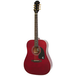 Epiphone DR-100 Limited Edition Acoustic Guitar - Wine Red