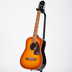 Epiphone Lil' Tex Travel Outfit Acoustic-Electric Guitar - Faded Cherry