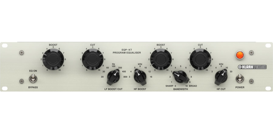 View larger image of  Klark Teknik EQP-KT Classic Tube Equalizer