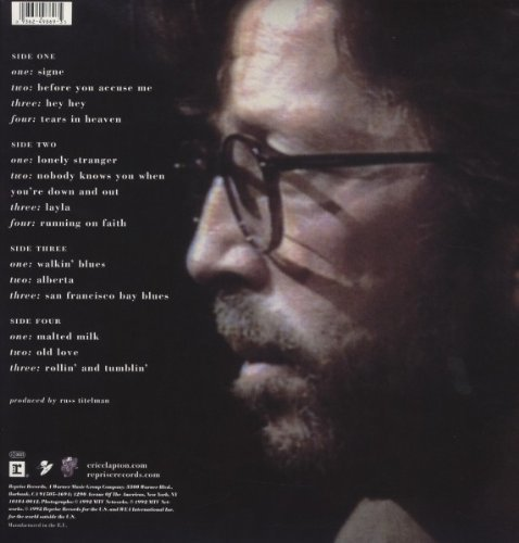 View larger image of Eric Clapton - Unplugged (2 LP)