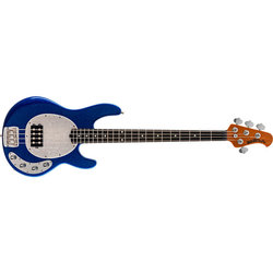 Ernie Ball Music Man StingRay Special Bass Guitar - Tectonic Blue Sparkle