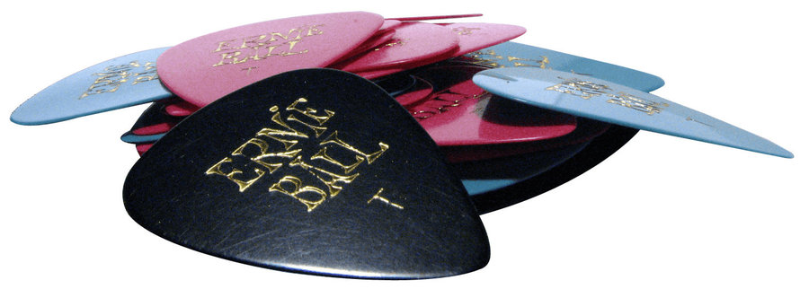 View larger image of Ernie Ball P09170 Standard Thin Guitar Picks - Bag of 24, Assorted