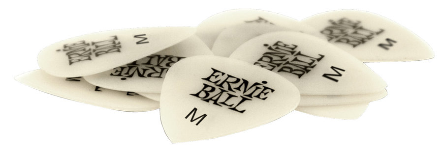 View larger image of Ernie Ball P09225 Specialty Super Glow Medium Guitar Picks - Bag of 12