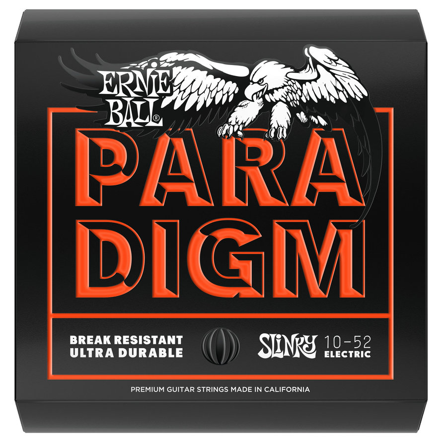View larger image of Ernie Ball Paradigm Electric Guitar Strings - Skinny Top-Heavy Bottom, 10-52