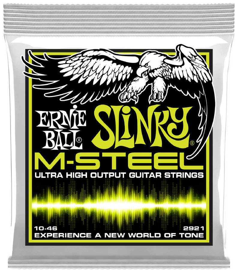 View larger image of Ernie Ball PO2921 Regular Slinky M-Steel Electric Guitar Strings