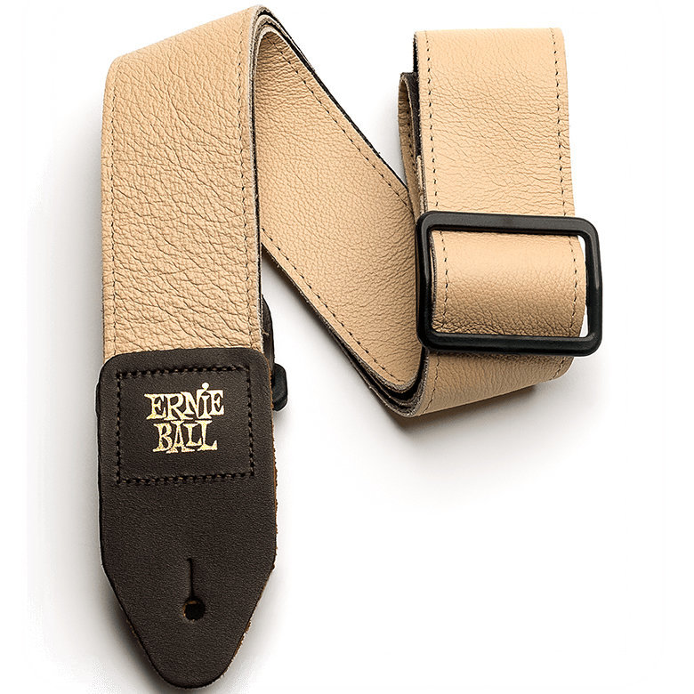 View larger image of Ernie Ball Tri-Glide Italian Leather Strap - Tan