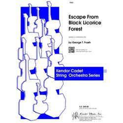 Escape from Black Licorice Forest - Score & Parts, Grade 2