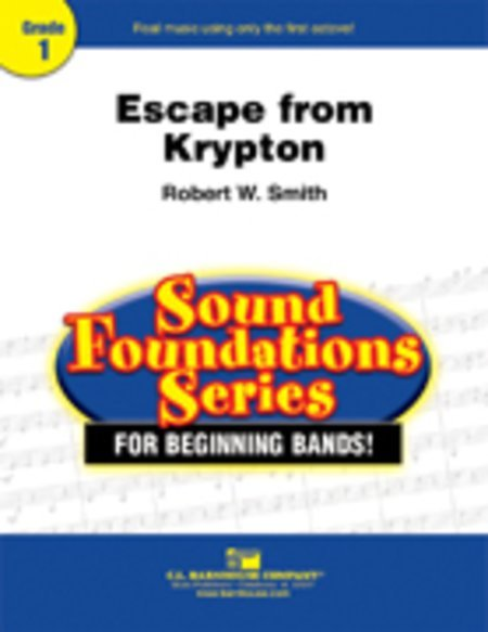 View larger image of Escape from Krypton - Score & Parts, Grade 1