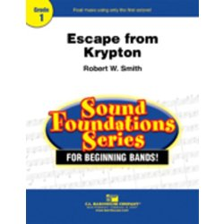 Escape from Krypton - Score & Parts, Grade 1