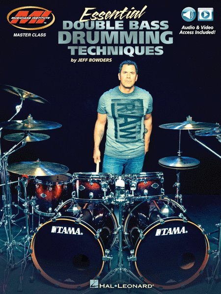 View larger image of Essential Double Bass Drumming Techniques w/Online Audio & Video