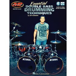 Essential Double Bass Drumming Techniques w/Online Audio & Video