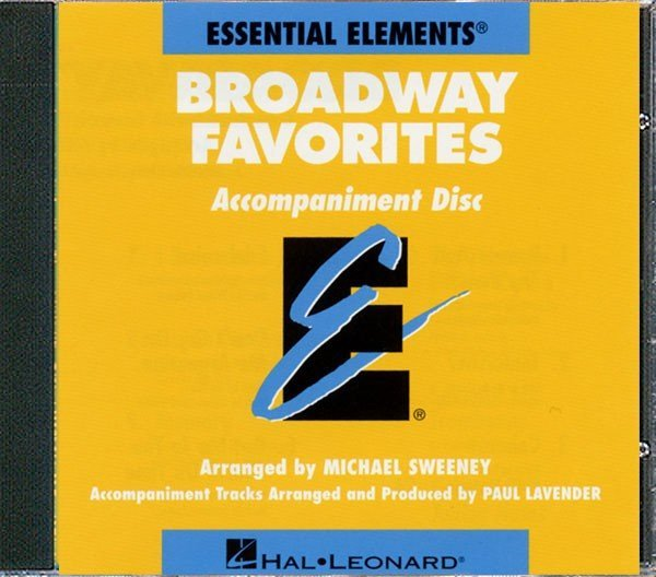 View larger image of Essential Elements Broadway Favorites - CD Accompaniment