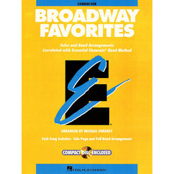 Essential Elements Broadway Favorites - Conductor