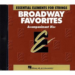 Essential Elements Broadway Favorites for Strings - CD Accompaniment