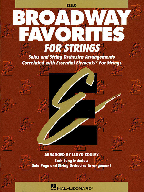 View larger image of Essential Elements Broadway Favorites for Strings – Cello