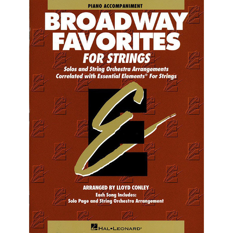 View larger image of Essential Elements Broadway Favorites for Strings – Piano Accompaniment