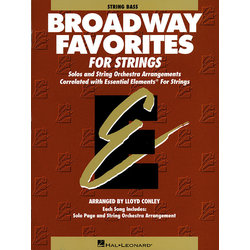 Essential Elements Broadway Favorites for Strings – String Bass