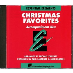 Essential Elements Christmas Favorites - Accompaniment CD