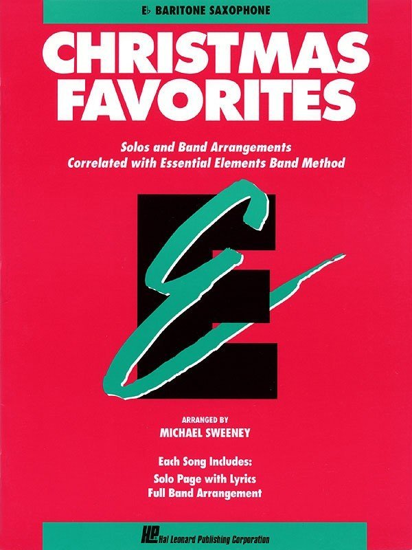 View larger image of Essential Elements Christmas Favorites - Bari Sax