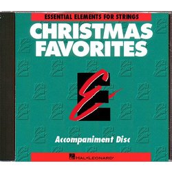 Essential Elements Christmas Favorites For Strings - CD Accompaniment
