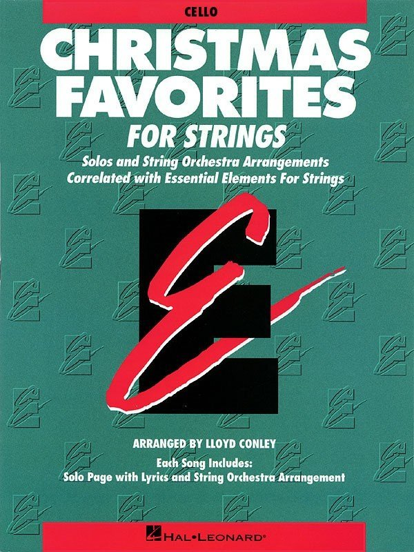 View larger image of Essential Elements Christmas Favorites For Strings - Cello