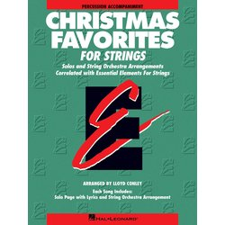 Essential Elements Christmas Favorites For Strings - Percussion