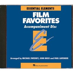 Essential Elements Film Favorites - CD Accompaniment