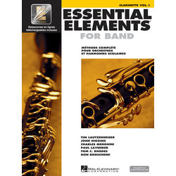 Essential Elements for Band - Book 1 (French Edition), Clarinet